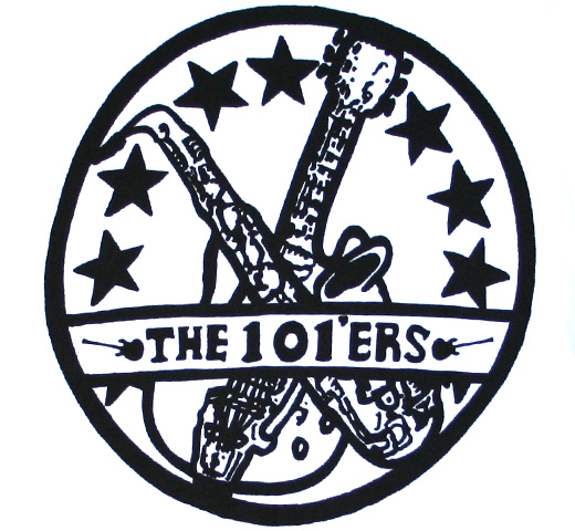 The 101'ers / Logo Tee (White)