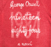 【Out of Print】 George Orwell / 1984 Fleece (Red)