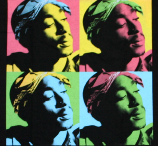 2PAC / Pop Art Tee (Black)