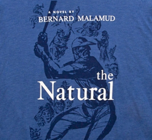 【Out of Print】 Bernard Malamud / The Natural Tee (Heather Blue)