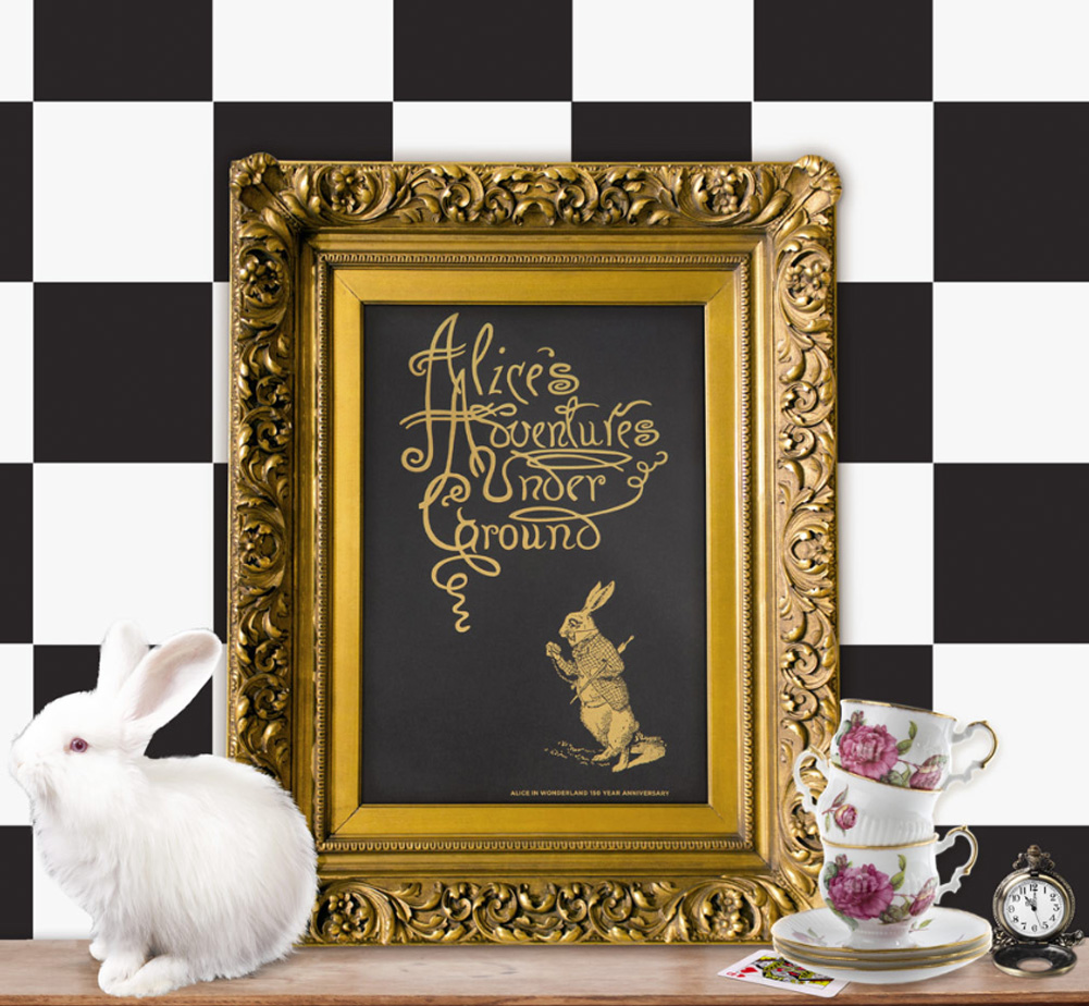【Out of Print】 Alice 150th Anniversary Poster