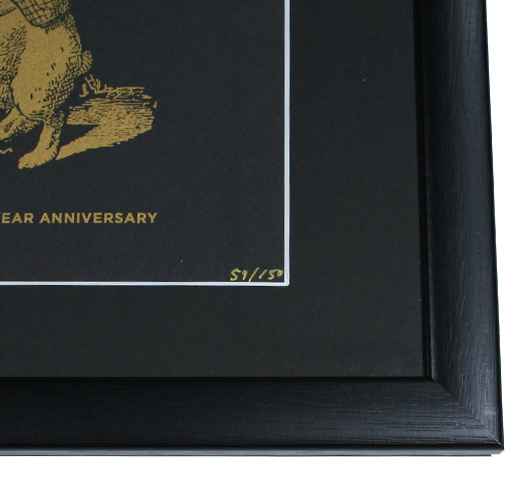 【Out of Print】 Alice 150th Anniversary Poster (Framed-7)