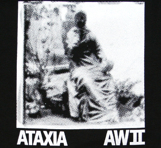 Ataxia / AW II (Automatic Writing II) Tee