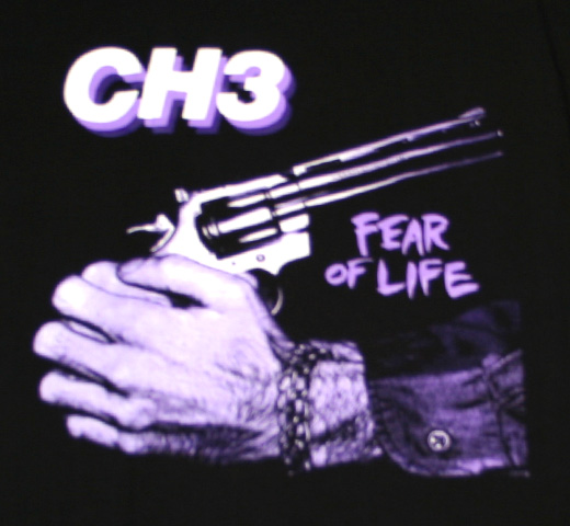 CH3 / Fear Of Life Tee