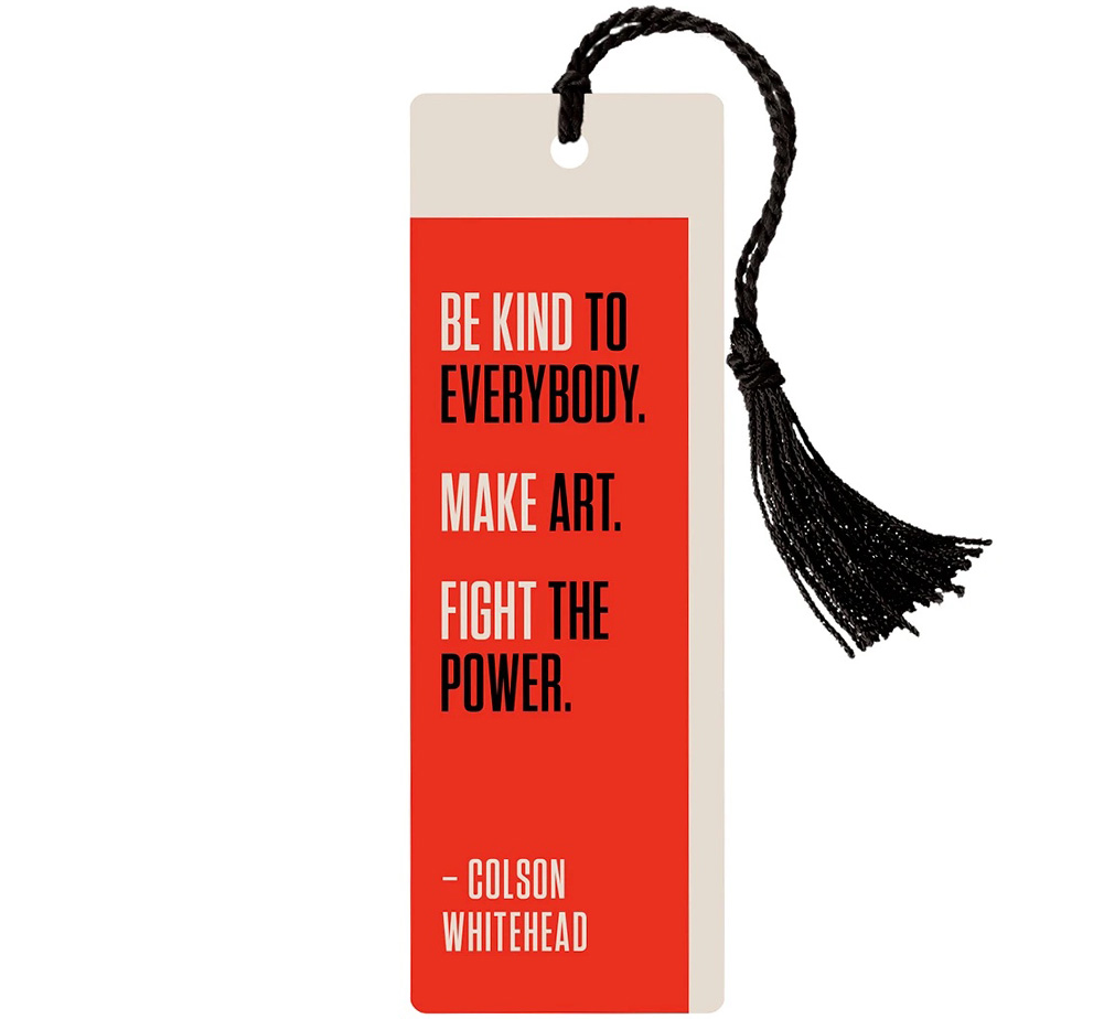[Out of Print] Colson Whitehead / B.M.F. Bookmark