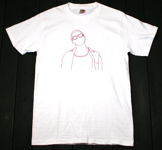 John Frusciante / Outline Tee (White)