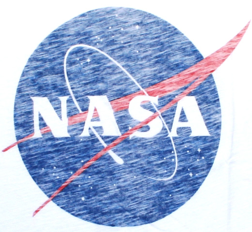 【Worn By】 NASA / Logo Tee (White)