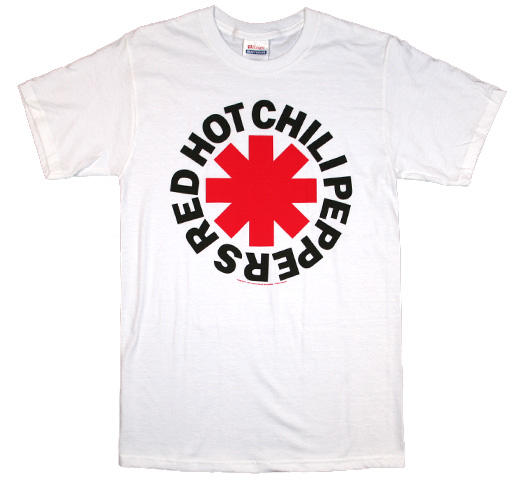 Red Hot Chili Peppers / Asterisk Tee 3 (White)