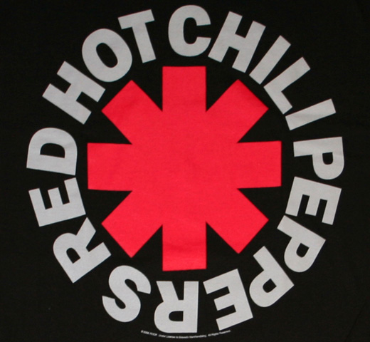 Red Hot Chili Peppers / Asterisk Tee 2 (Black)