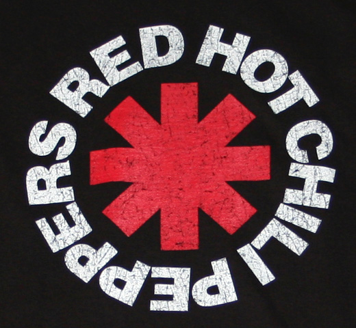 Red Hot Chili Peppers / Asterisk Tee 1 (Black)