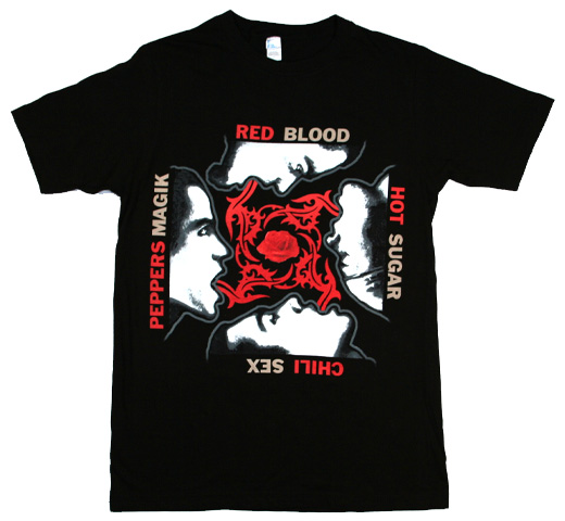 Red Hot Chili Peppers / Blood Sugar Sex Magik Tee (Black)