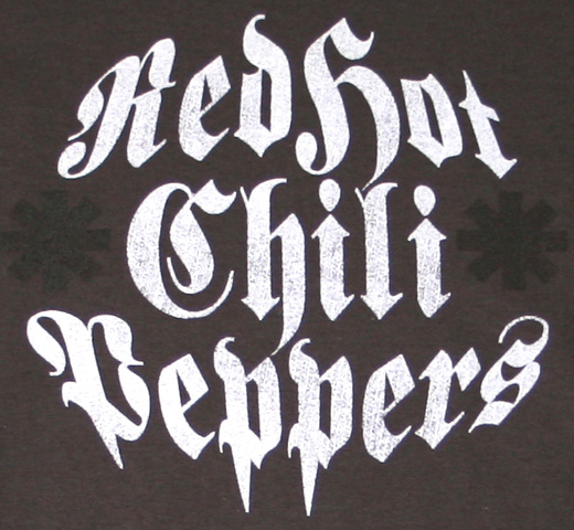 Red Hot Chili Peppers / Distressed Logo Tee