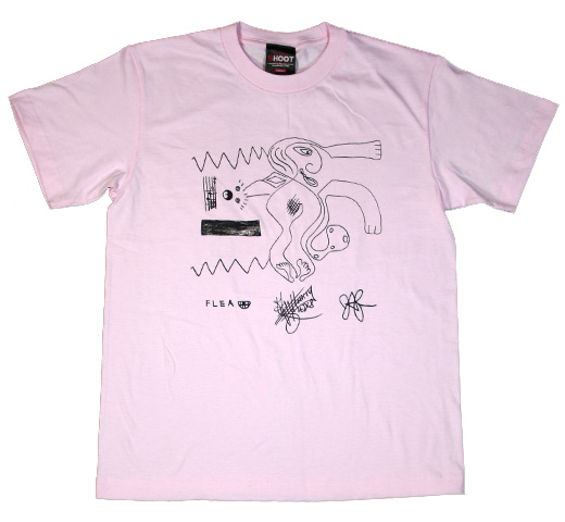 Red Hot Chili Peppers / Drawing Tee (Pink)
