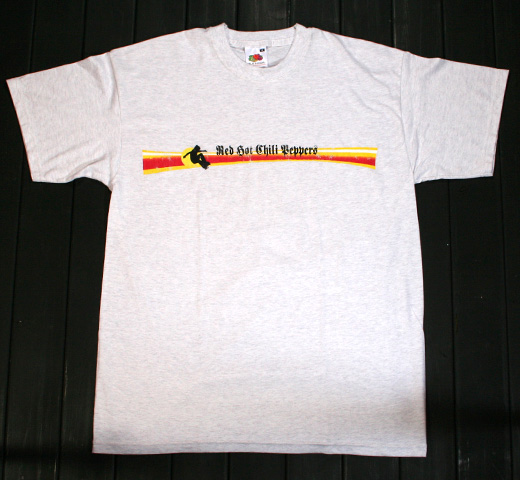Red Hot Chili Peppers / Skater Tee (Ash Gray)