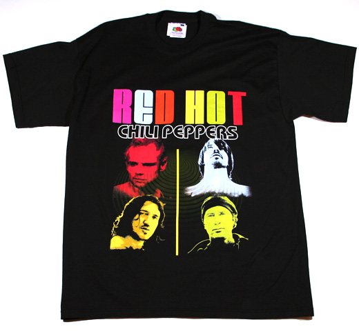 Red Hot Chili Peppers / Member Shot Tee (Black)