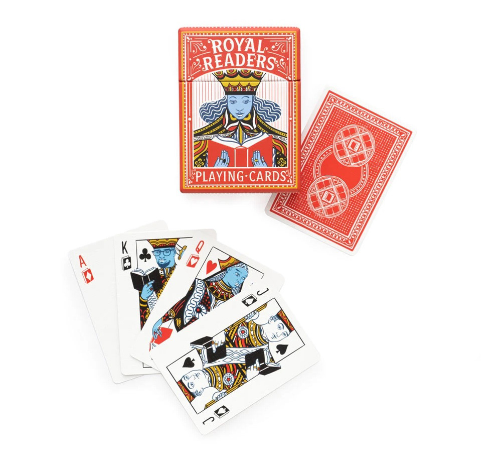 [Out of Print] Royal Readers Playing Cards