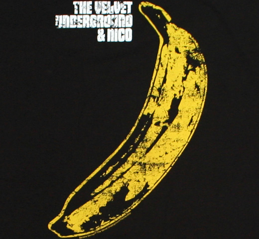 The Velvet Underground & Nico Distressed Tee (Black)
