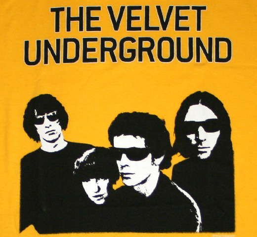 The Velvet Underground / Group Tee (Yellow)