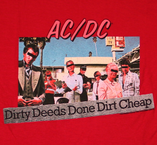 AC/DC / Dirty Deeds Done Cheap Tee