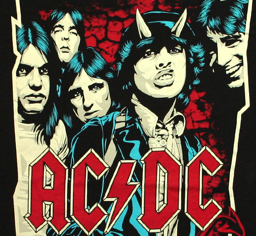 AC/DC / Highway to Hell Illustration Tee (Black)