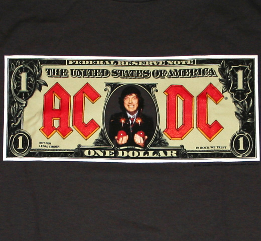 AC/DC / Money Talks Tee