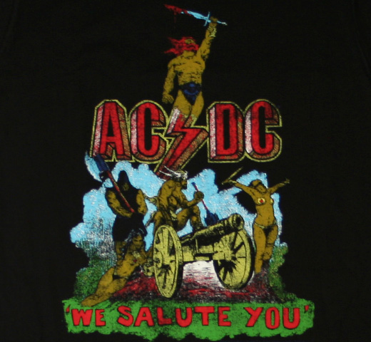 AC/DC / We Salute You Tee