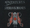 【Out of Print】 Arthur Conan Doyle / The Adventures of Sherlock Holmes Tee (Charcoal) (Womens)