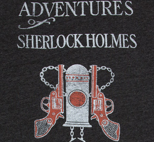 【Out of Print】 Arthur Conan Doyle / The Adventures of Sherlock Holmes Sweatshirt (Grey)