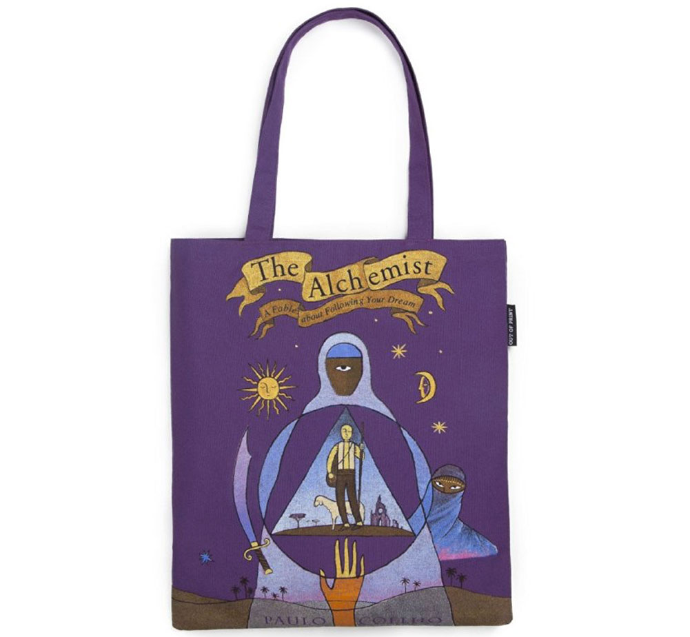 【Out of Print】 Paulo Coelho / The Alchemist Tote Bag