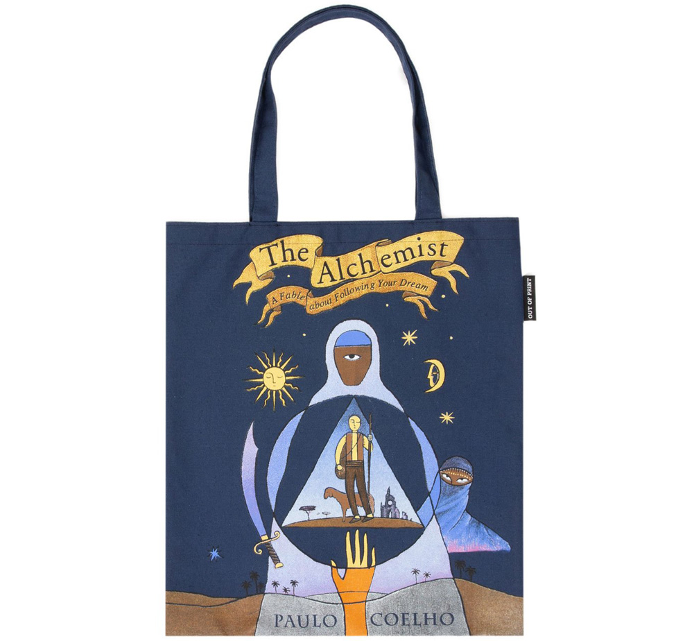 [Out of Print] Paulo Coelho / The Alchemist Tote Bag 2