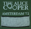 【Worn Free】 Alice Cooper / Amsterdam 72 Tee (Bottle Green)