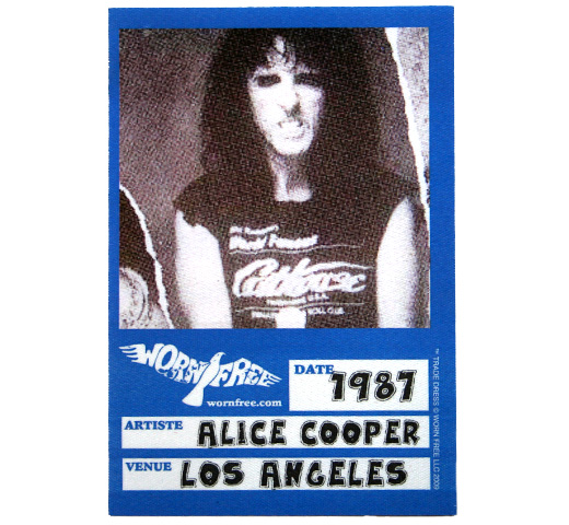 【Worn Free】 Alice Cooper / Cathouse Scoop Neck Tee (Black) (Womens)