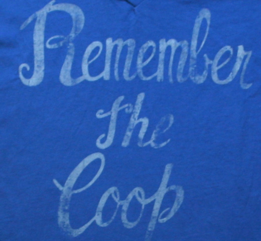 【Worn Free】 Alice Cooper / Remember the Coop V-Neck Tee (Royal Blue) (Womens)