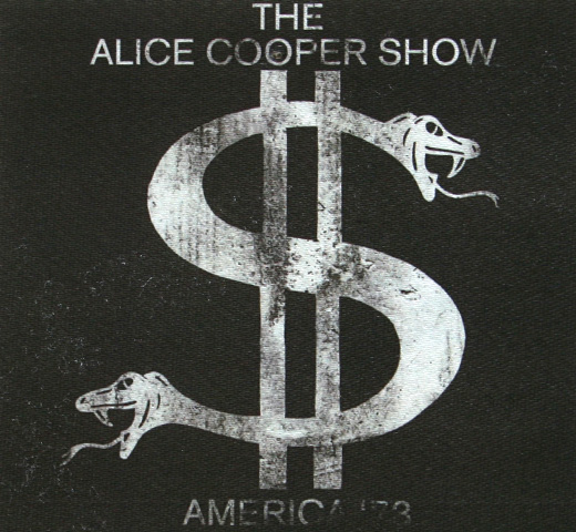 【Worn Free】 Alice Cooper / The Alice Cooper Show Tee (Black)