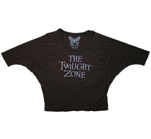 【Worn Free】 Alice Cooper / Twilight Zone Oversized Roadie Tee (Black) (Womens)