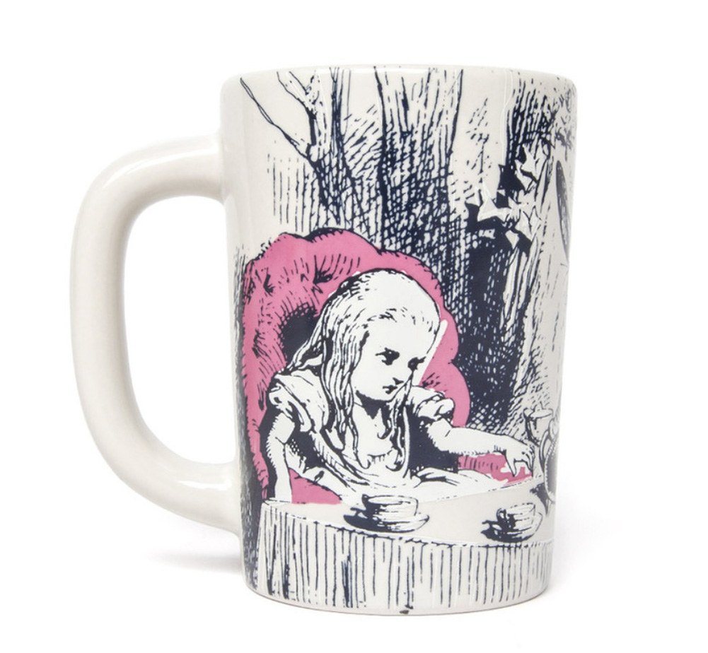 [Out of Print] Lewis Carroll / Alice's Adventures in Wonderland Mug