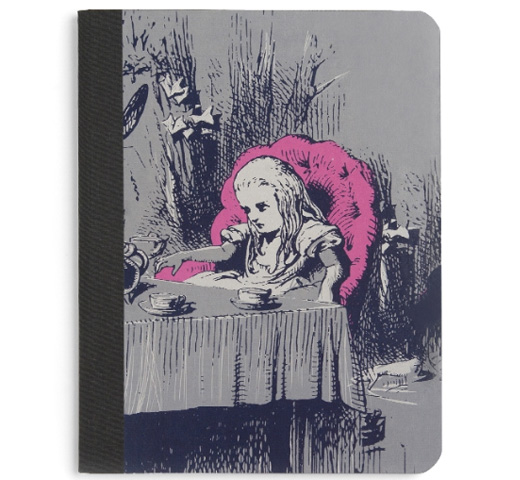 【Out of Print】 Lewis Carroll / Alice's Adventures in Wonderland Notebook