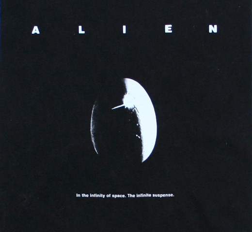 【Worn By】 ALIEN / Original Poster Tee (White)