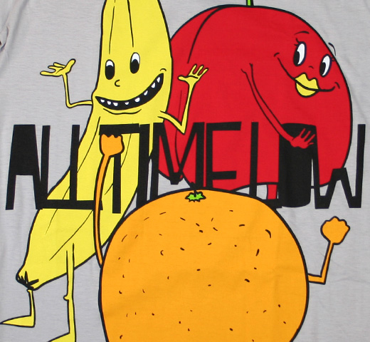 All Time Low / Silver Fruit Tee