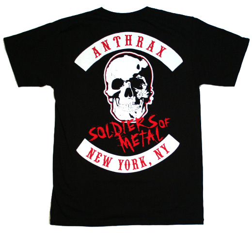 Anthrax / Fistful of Metal Tee