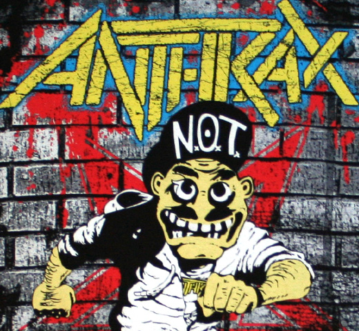 Anthrax / Skater Guy Tee (Black)