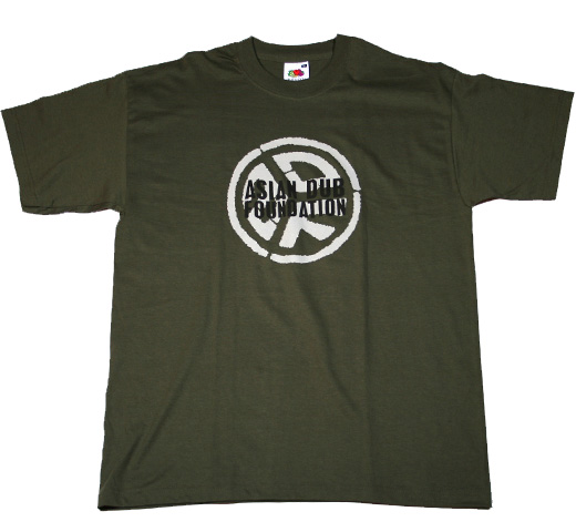 Asian Dub Foundation / Black Logo Tee