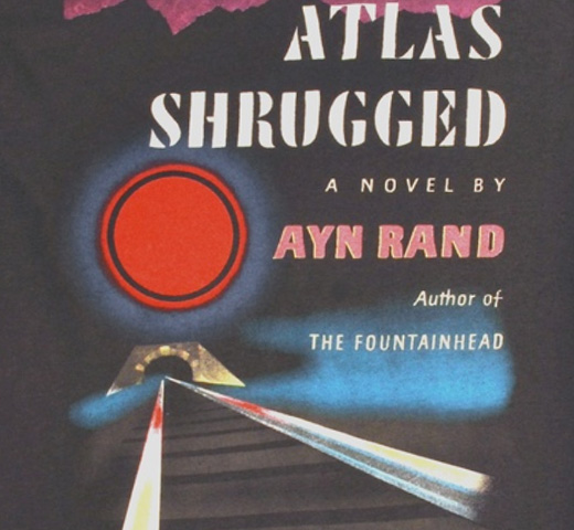 【Out of Print】 Ayn Rand / Atlas Shrugged Tee (Charcoal)