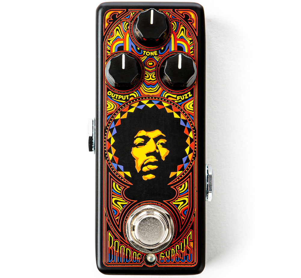 [Jim Dunlop] Authentic Hendrix® '69 Psych Series Band Of Gypsys™ Fuzz (JHW4)