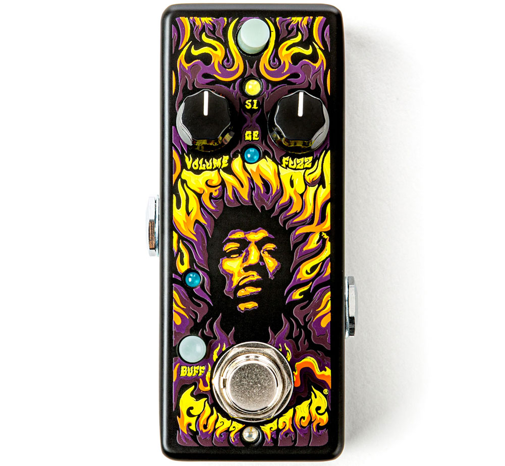[Jim Dunlop] Authentic Hendrix® '69 Psych Series Fuzz Face® Distortion (JHW1)