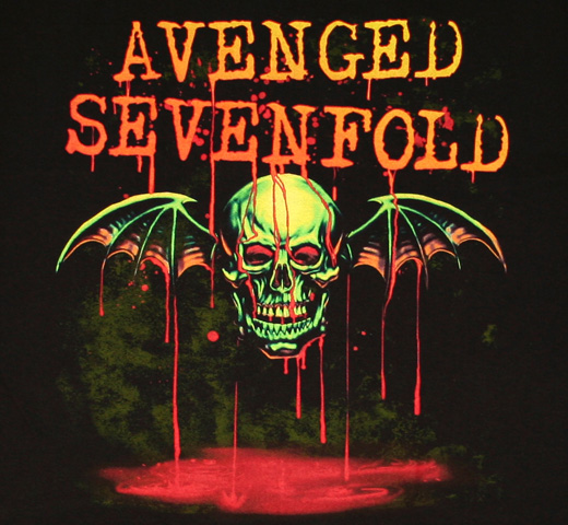 Avenged Sevenfold / Bat Drip Tee