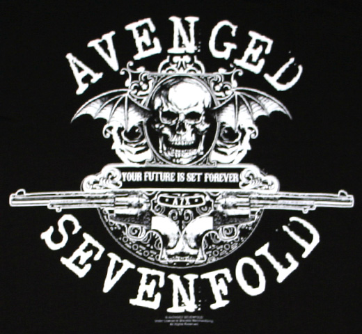 Avenged Sevenfold / Your Future Is Set Forever Tee