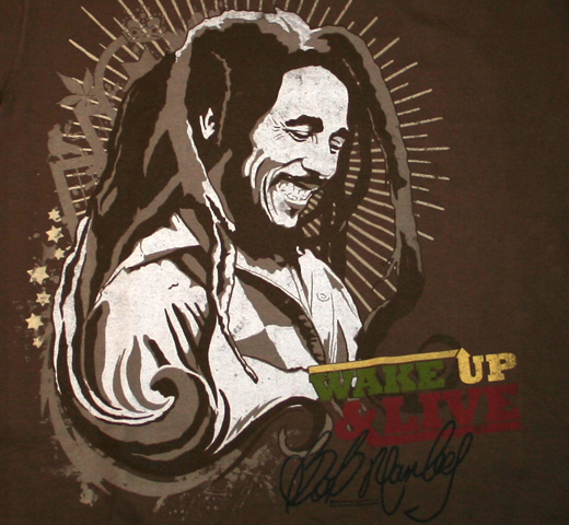 Bob Marley / Wake Up & Live Tee