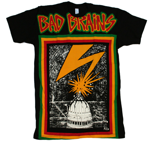 Bad Brains Skull Bad Brains / Capitol Big Print