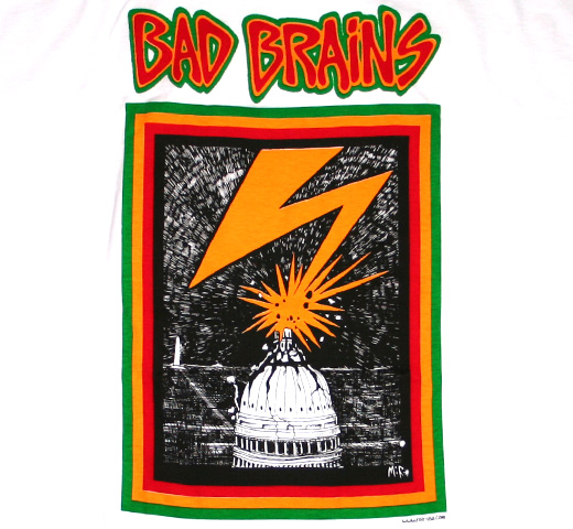 Bad Brains / Capitol Tee (White)